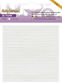 Hobbyjournaal Double Sided Adhesive Foam Pads 2 mm