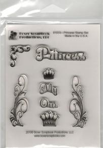 Boxer Scrapbook Princess Stamp Set