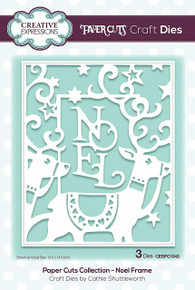 Paper Cuts Collection Noel Frame Craft Die