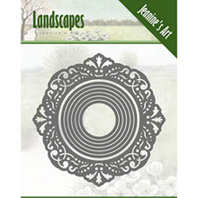 Jeanine's Art Landscapes- Mini Frame Circle Die Set