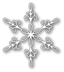 Memory Box Chancery Snowflake Craft Die 99806