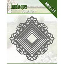 Jeanine's Art Landscapes- Mini Frame Square Die Set
