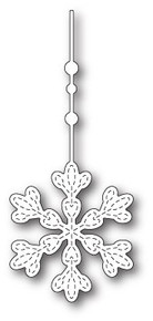 Memory Box Die, Hanging Evelyn Snowflake
