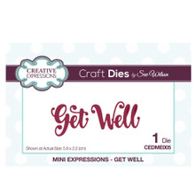 Creative Expressions CEDME005 Die, Get Well