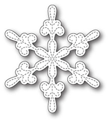 Memory Box Die, Chancery Snowflake Outline