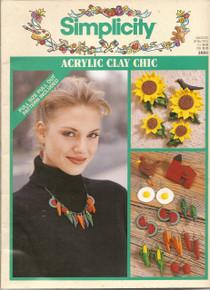 Simplicity Acrylic Clay Chic  #3880 by Elizabeth Popiel