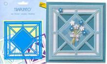 AVEC Trapunto Stencil - Diamond Square