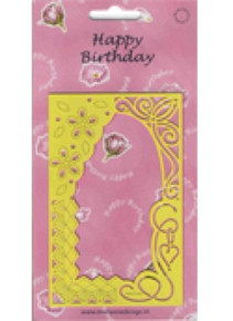 Marianne Designs Happy Birthday Multi Stencil Metal