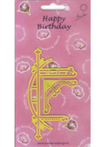 Marianne Designs Happy Birthday- Stencil Metal