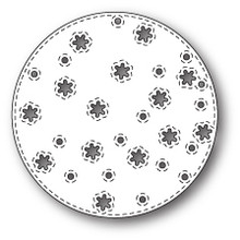 Memory Box Die, Stitched Snowflake Circle