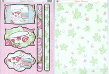 3-D Die-Cut Decoupage Sheet-Womens Tea