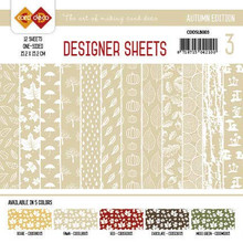 Find It Trading Card Deco Designer Sheets Autumn Edition Fawn