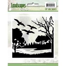Jeanine's Art Landscapes Cut and Emboss Folder