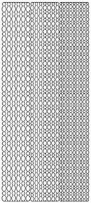 Starform Borders 2843 Double Stick Peel Stickers Outline