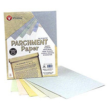 Hygloss 92399 30-Sheet Parchment Paper, 8.5 by 11-Inch