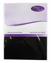 Midas Touch Adhesive Backed Toner Sheets 8x10.5' 2-Sheets Per Pack