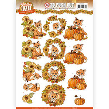 Find It Trading Fabulous Fall- Fabulous Foxes Push-Out Sheet