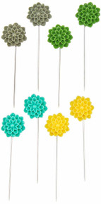 Sugar Picks Pins 8/Pkg-Sunshine