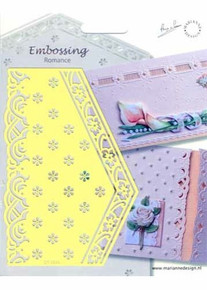 Marianne Designs Embossing Romance - Tiny Flowers (Eh1844)