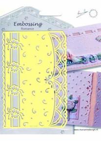 Marianne Designs Embossing Romance - Swirls (Eh1841)