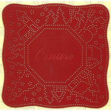 Ornare Winter Village Frame Piercing Template PM025
