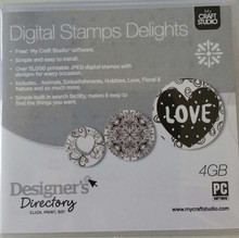 My Craft Studio Digital Stamping Delights Over 15000 Printable JPEG Digital S...