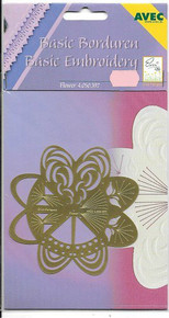 Erica's Embrodery on Paper Metal Template Flower 4.050.397