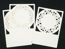 Lomiac Wreath Laser Cut Card Layers Set