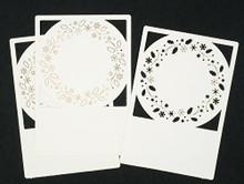 Lomiac Wreath Laser Cut Card Layers Set