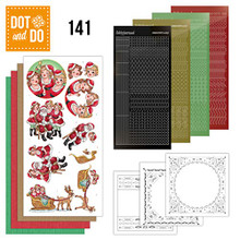Dot and Do Winter Flowers DODO141 Hobbydots Card Set