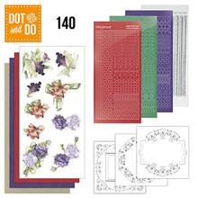 Dot and Do Winter Flowers DODO140 Hobbydots Card Set