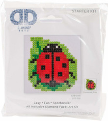 Diamond Dotz Lady Luck Diamond Embroidery Kit