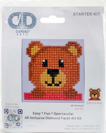 Diamond Dotz Mr. Handsom Diamond Embroidery Kit (DDS.001)