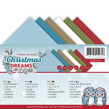 Yvonne Creations Linen Paper Christmas Dreams Cardstock 4K Sheets YC-4K-10015