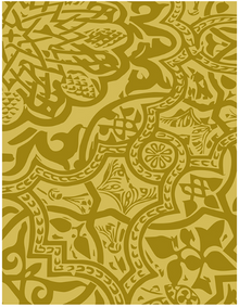 Richard Garay Brocade Code Embossing Folder SGEF-002