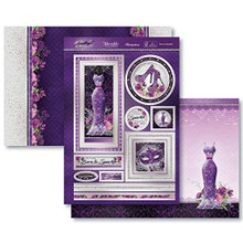 Amethyst Dreams Born to Sparkle Luxury 3 pc Topper Set
