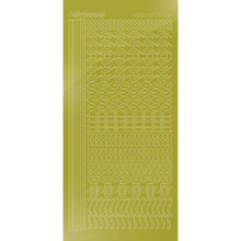 Find It Trading Hobbydots sticker - Mirror - Yellow STDM18E