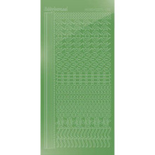 Find It Trading Hobbydots sticker - Mirror - Lime STDM18C