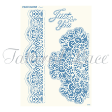 Parchment Lace Broderie Lace Parchement Grid