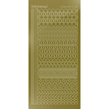 Find It Trading Hobbydots sticker - Mirror - Gold  STYLE 21 STDM217