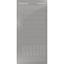 Find It Trading Hobbydots sticker - Mirror - Silver  STYLE 17  STDM178