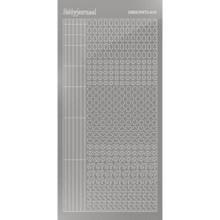 Find It Trading Hobbydots sticker - Mirror - Silver  STYLE 10  STDM108