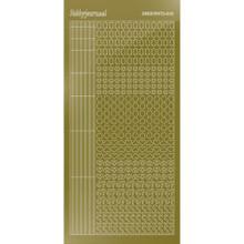 Find It Trading Hobbydots sticker - Mirror - GoldSTYLE 10   STDM107