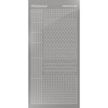 Find It Trading Hobbydots sticker - Mirror - Silver STYLE 9  STDM098