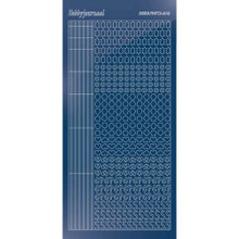 Find It Trading Hobbydots sticker - Mirror - Blue STYLE 10  STDM10A