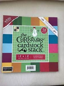 The Christmas Cardstock Stack-60 Sheets