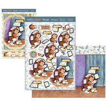 Hunkydory Cute & Cuddly Designer Deco Large Set- Cards for You CUTEAND902