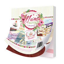 Hunkydory Square Little Book of Mum Mantras- 150 Pages 5x5-inches LBSQ122
