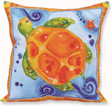 Diamond Dotz Turtle Journey Pillow 5D Diamond Painting Facet Art Kit