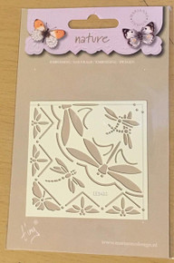 Marianne Design Embossing Stencil - Nature Dragonflies EE3430